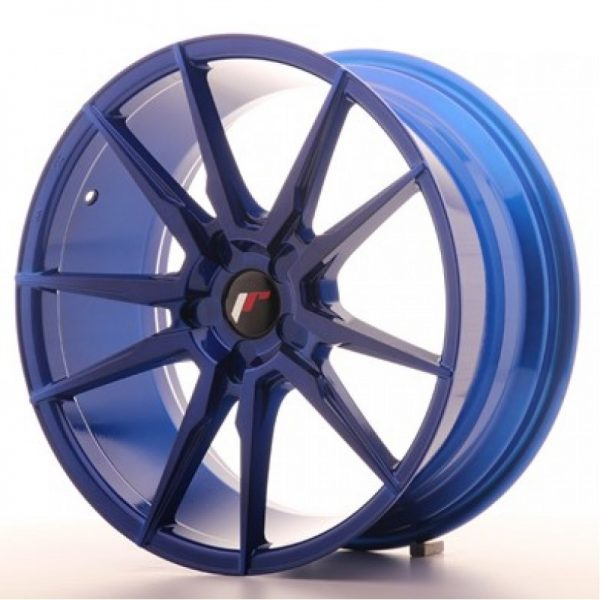 JR21 20x11 ET20-30 5H BLANK Platinum Blue